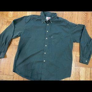 VINTAGE Levis Button Up Shirt Men's Size XL Washed